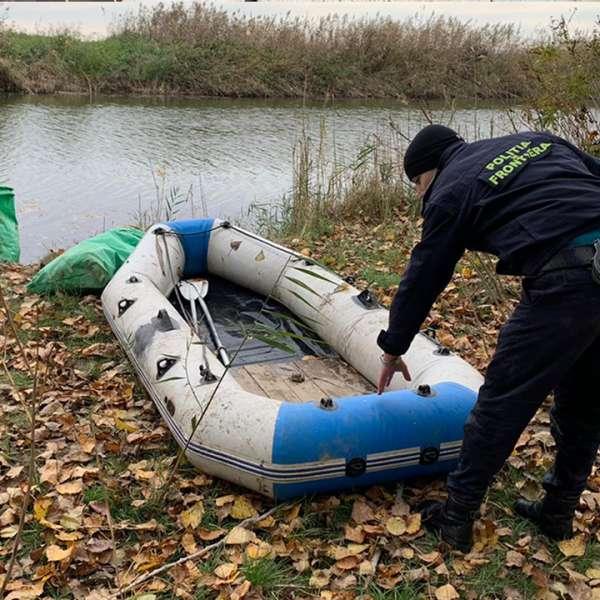 Plase de pescuit în lungime de aproximativ 310 m, confiscate de poliţiştii de frontieră călărăşeni