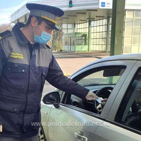 Căutat de autoritățile române, oprit în P.T.F. Petea