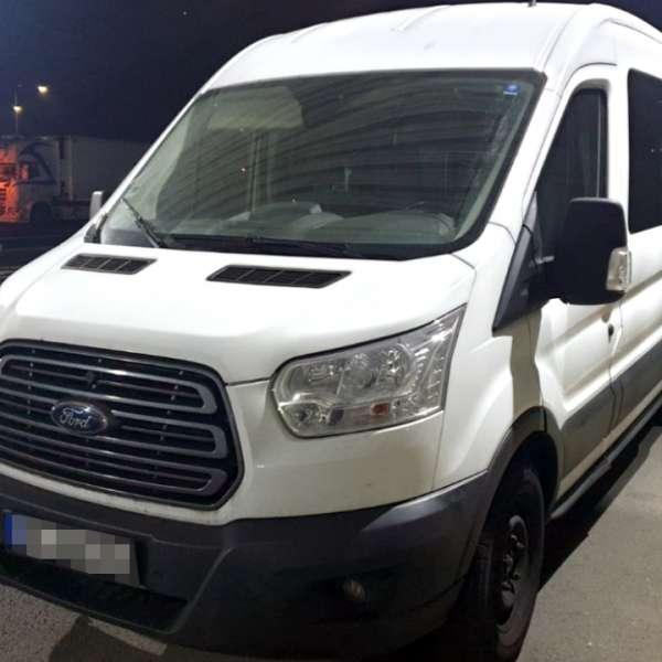 Autovehicul căutat pentru confiscare de autoritățile din Germania, descoperit la P.T.F. Giurgiu