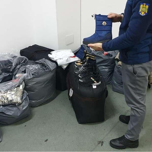 5.300 bunuri susceptibile a fi contrafăcute sau fără documente de proveniență, confiscate la P.T.F. Giurgiu în ultimele 48 de ore