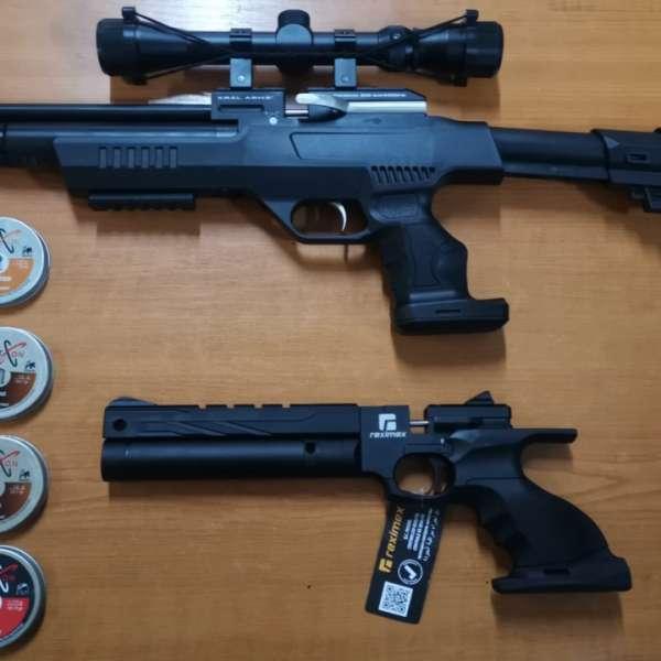 Lucrare penală întocmită de către polițiștii de frontieră pentru nerespectarea regimului armelor și muniției