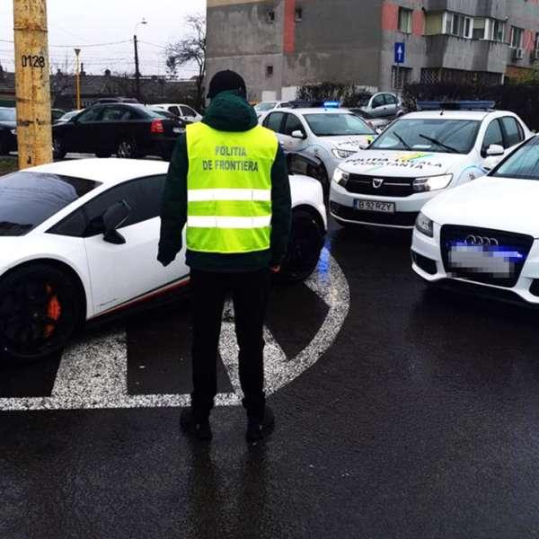 Autoturism de lux căutat de autoritățile din Germania,descoperit de polițiștii de frontieră constănțeni