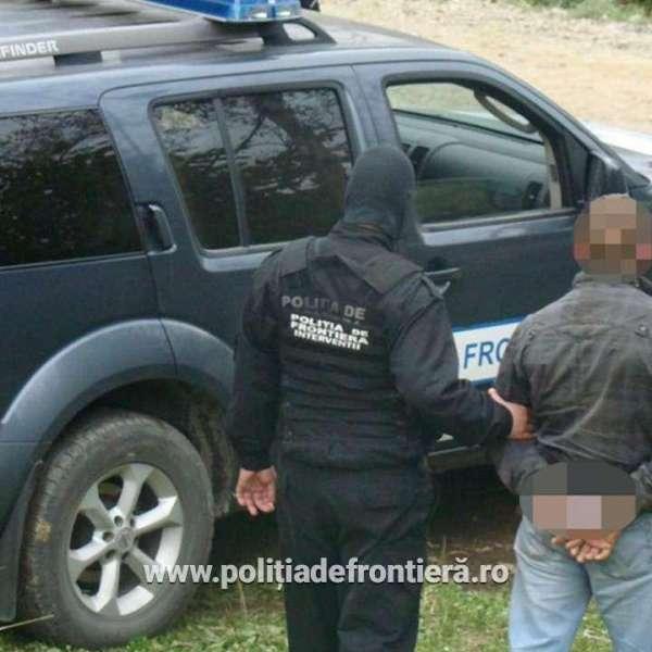 Căutat de autoritățile române, oprit în P.T.F. Urziceni