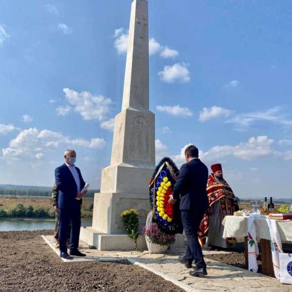 Monumentul Eroului Grănicer - Petre Marcu - din satul Mălăiești, Comuna Bălăbănești, Raionul Criuleni, Republica Moldova