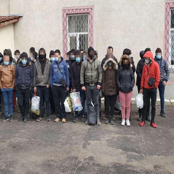 38 de migranți opriți din drumul ilegal spre spațiul Schengen