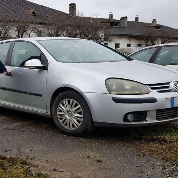 Autoturism semnalat furat din Italia, descoperit de polițiștii de frontieră în Sighetu Marmației