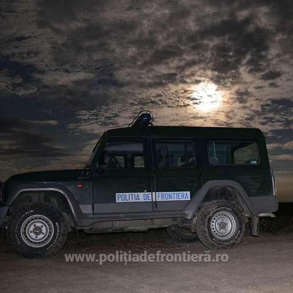 Trei migranți opriți din drumul ilegal spre Spațiul Schengen