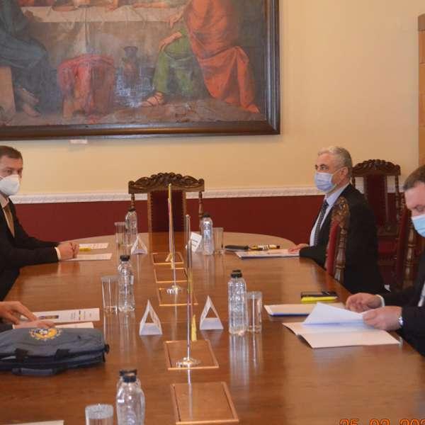 Întâlnire oficială a conducerii Poliției de Frontieră Române cu cea din Serbia