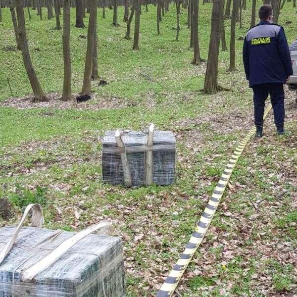 Autoturism și țigări de contrabandă reținute cu focuri de armă la frontiera de est