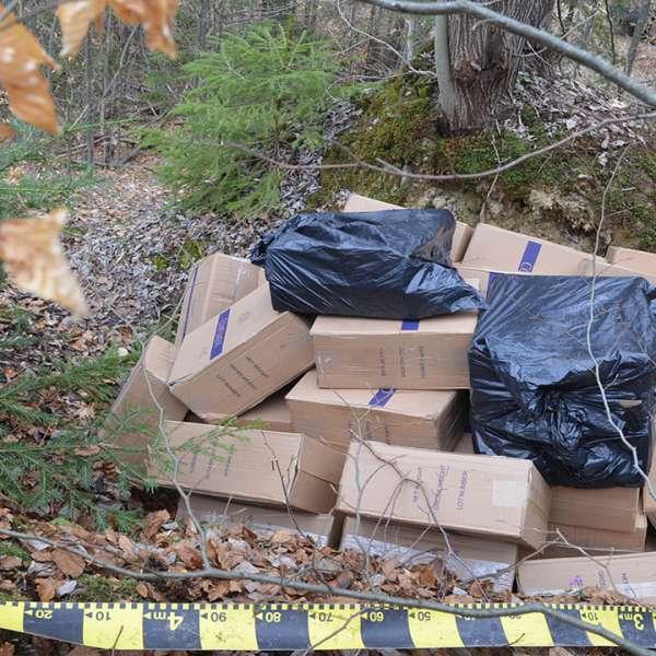 Aproximativ 18.000 pachete țigări, confiscate la frontiera de nord