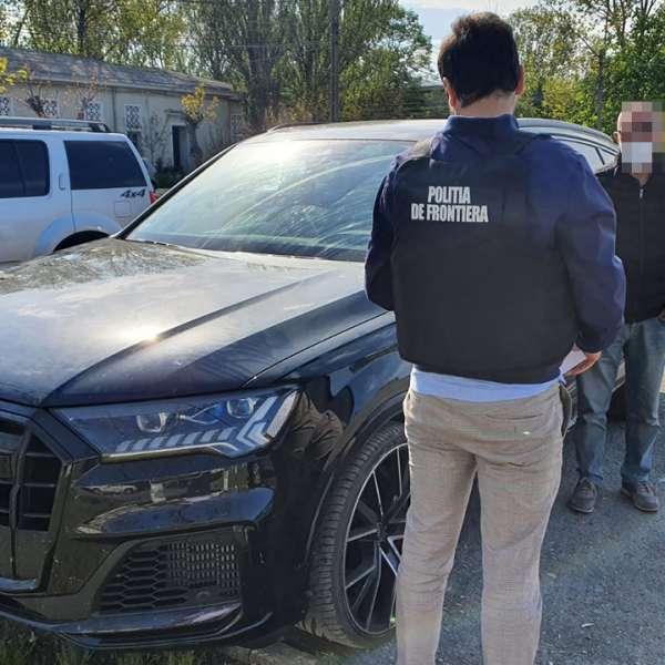 Autoturism de lux căutat de autoritățile din Germania,descoperit de poliţiştii de frontieră constănţeni