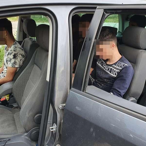 Doi cetățeni români prinși în flagrant de polițiștii de frontieră constănțeni, în timp ce transportau migranți ilegali