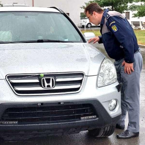 Autoturism căutat de autoritățile din Cehia, indisponibilizat de poliţiştii de frontieră
