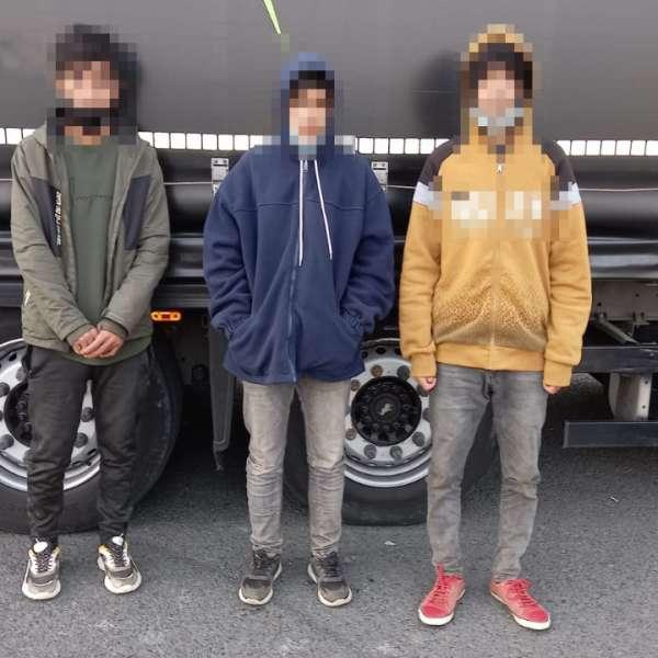 Trei cetățeni străini depistați de polițiștii de frontieră arădeni