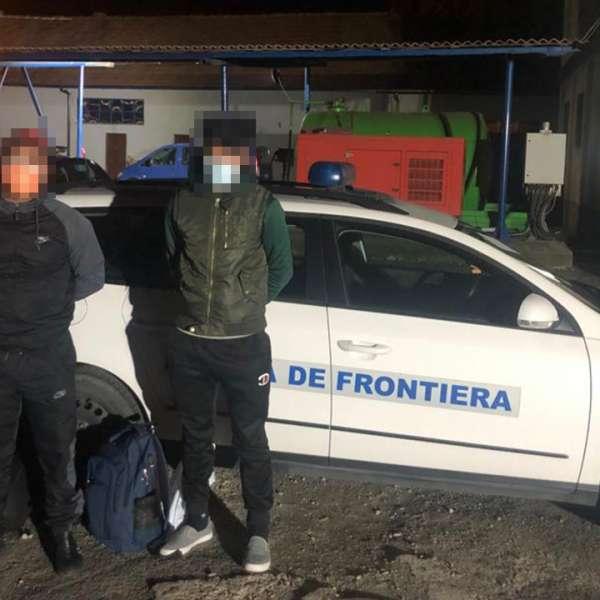 Doi cetăţeni străini opriţi din drumul ilegal spre vestul Europei