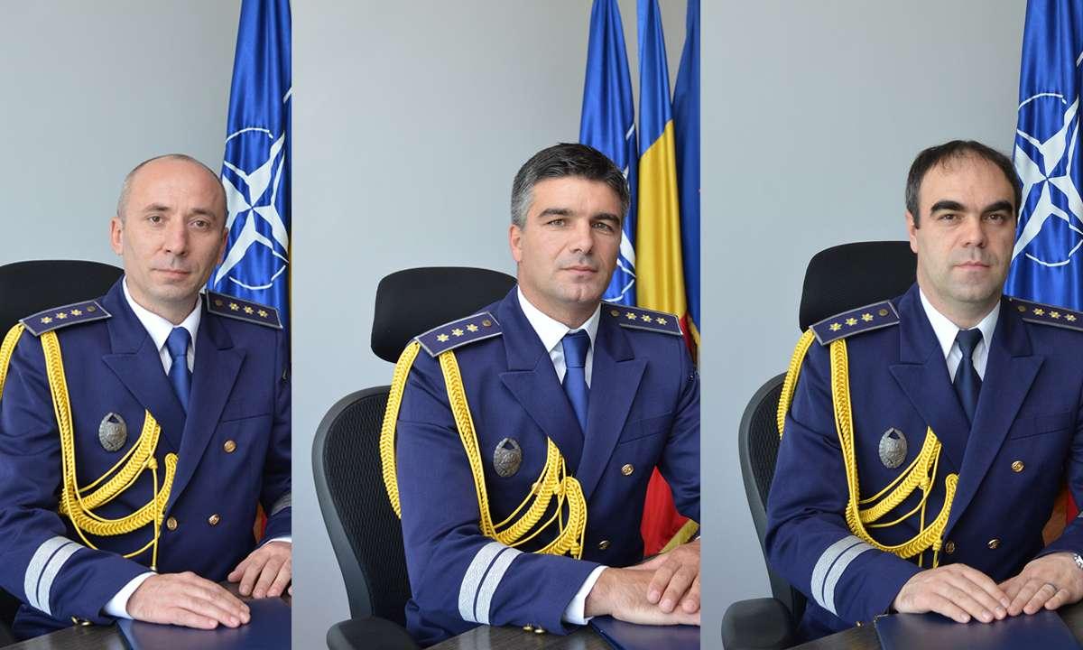 Noii adjuncți ai inspectorului general al Poliției de Frontieră Române