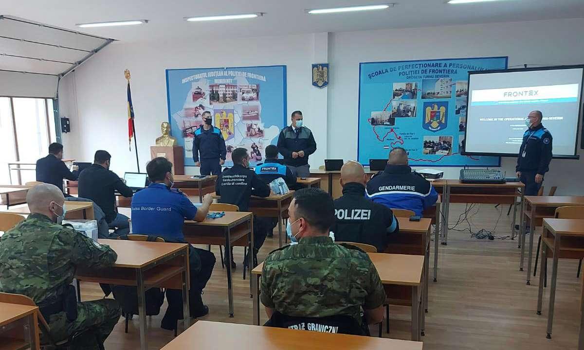 Poliţia de Frontieră Română asigură găzduirea operaţiunii Activităţi Operaţionale Flexibile organizată de Agenţia Europeană pentru Poliția de Frontieră și Garda de Coastă –FRONTEX
